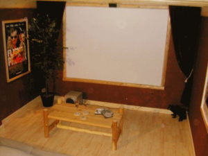 Smoky Mountain Memories 2 Bedroom Log Cabin Theater photo in Gatlinburg - Pigeon Forge Tennessee
